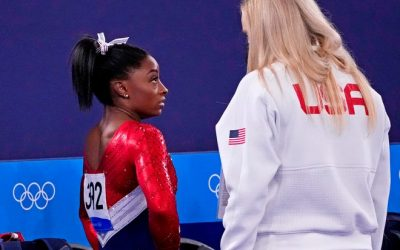 Simone Biles is a role model for prioritizing her own mental health over an Olympic medal